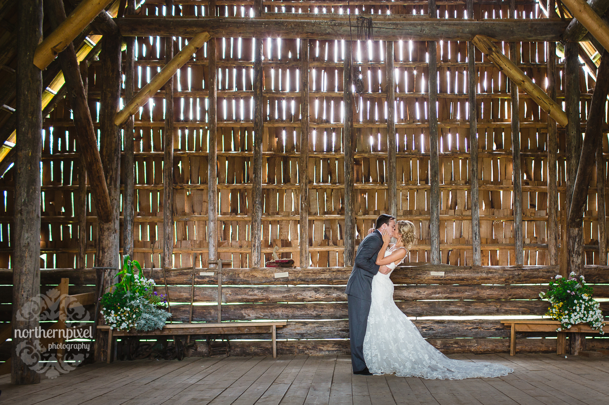 Huble Homestead Barn Wedding, Prince George BC