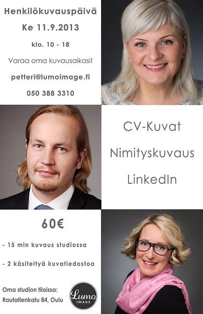 CV-kuvaus Oulussa