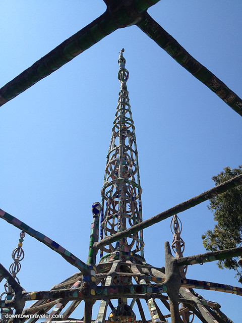 Los Angeles Watts Towers 9