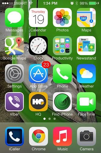 Hello iOS 7!