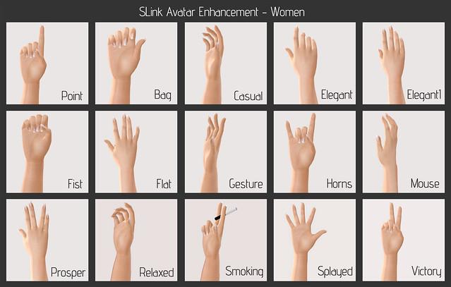 SLink Avatar Enhancement - Women