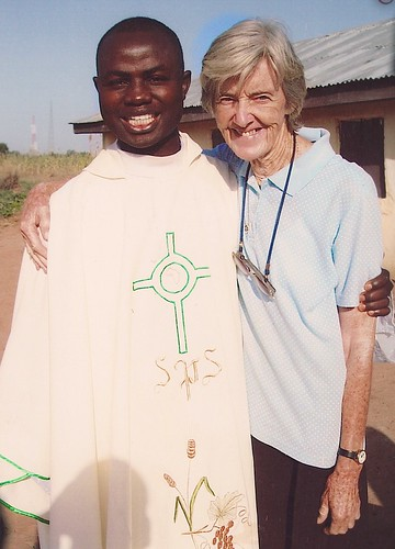 Colette Corvin SSL is the only Irish sister currently ministering in Nigeria. She trains catechists and evangelists in Bauchi State, Nigeria