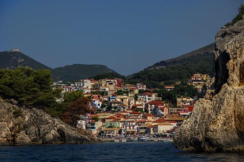 travel sea europe greece infocus parga highquality