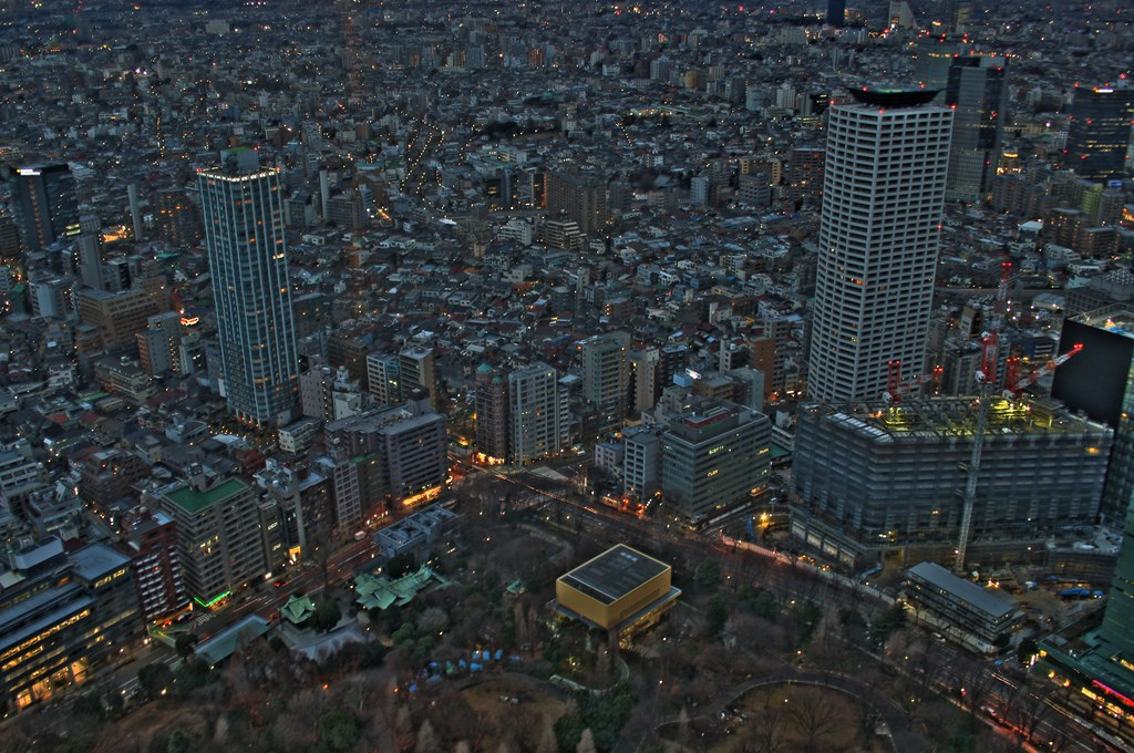 Shinjuku, HDR