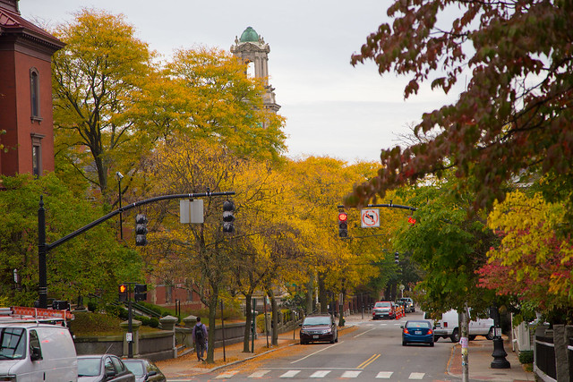 Fall in Providence