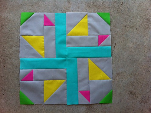 Finished all 20 Kaleidoscope quilt blocks!