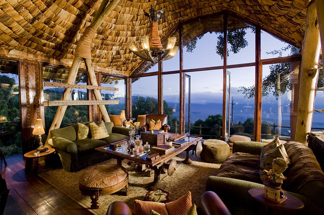 Africa safari lodges
