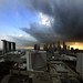 Storm clouds over Singapore