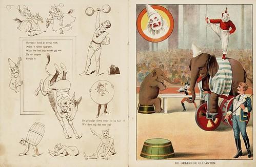 009- De circus-1890-© Royal Library - Biblioteca Nacional de los Países Bajos