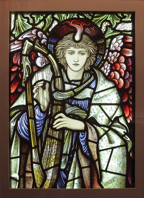 Praising Angel, designed by Edward Burne-Jones, 1902