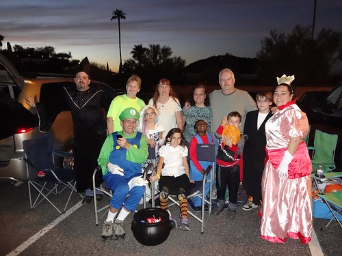The Trunk or Treat crew