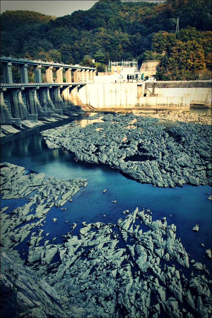 댐-'북한강 자전거 종주'