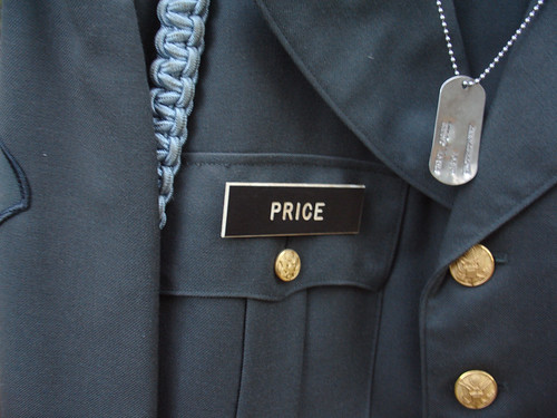 Jim Price - U.S. Army Uniform