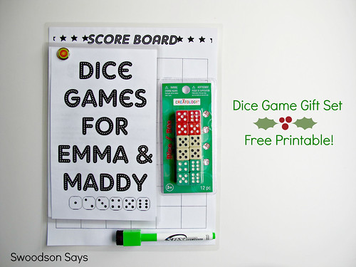 DIY Dice Game Set