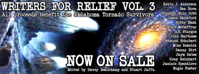 Writers for Relief 3 flyer