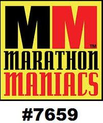 MARATHON MANIAC BIB