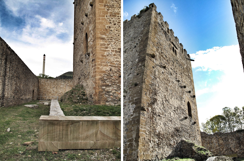 castillo de muñatones_excavaciones arqueológicas_entrada_torre