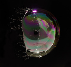 Single Flash Bubble Burst