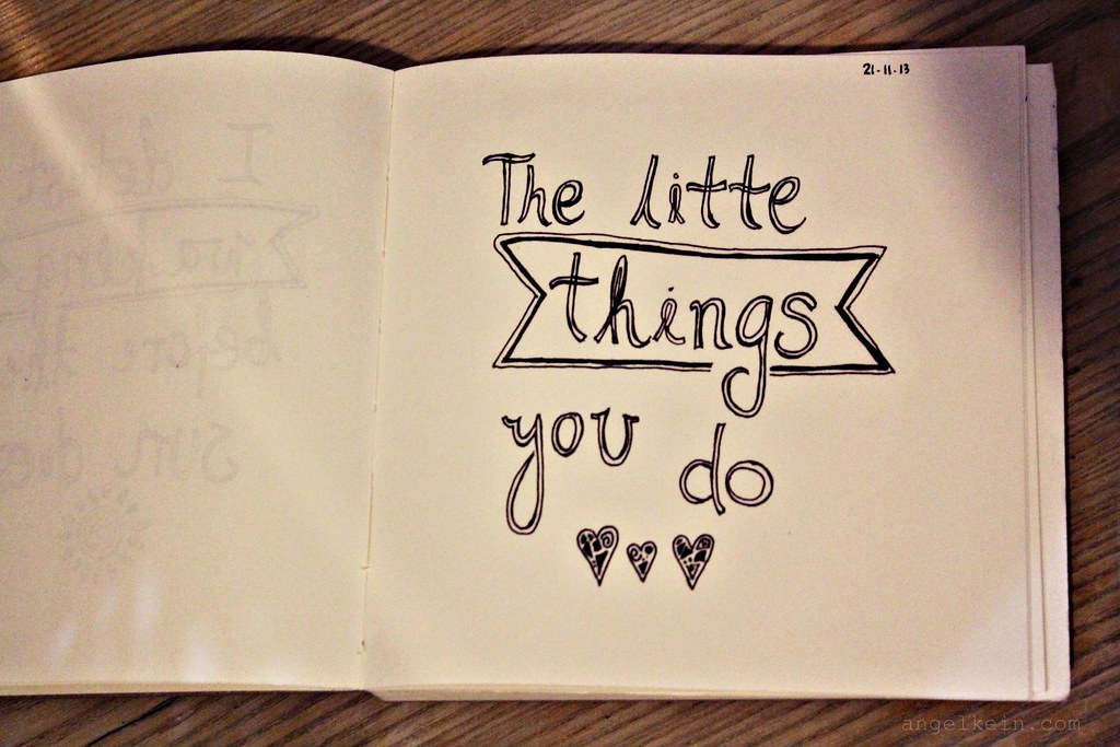 9. Little Things