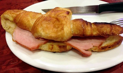 Ham & Cheese Croissant at Coffee Mania, Patong, Phuket