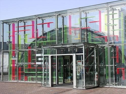Stadtbibliothek Essen, Germany (図書館、ドイツ エッセン)