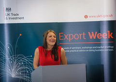 Kirsty Henshaw at Export Week