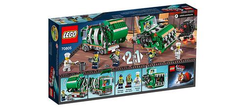 LEGO Movie 70805 Back