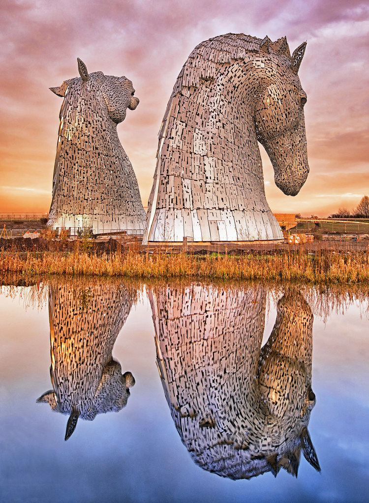 The Kelpies Tower Colossal Metres