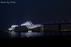 東京ゲートブリッジの夜景