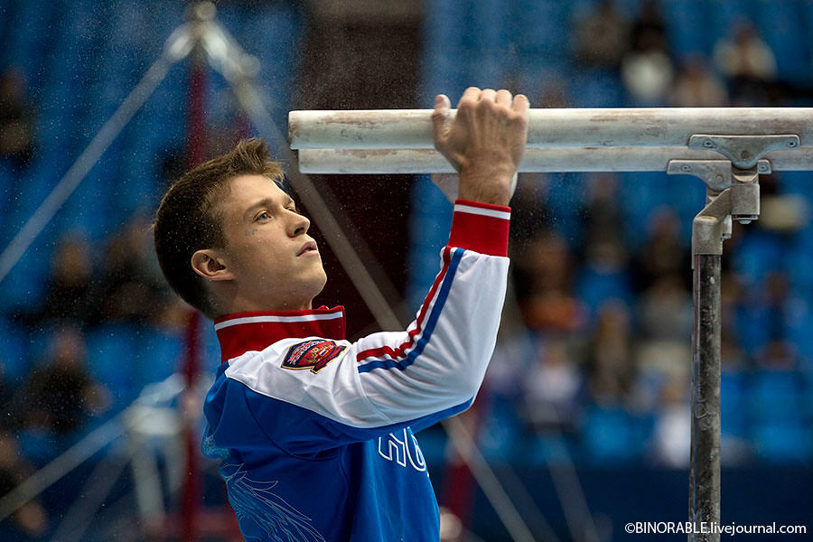 The 20th International Mikhail Voronin Cup for gymnastics was held in Moscow ©binorable.livejournal.com
