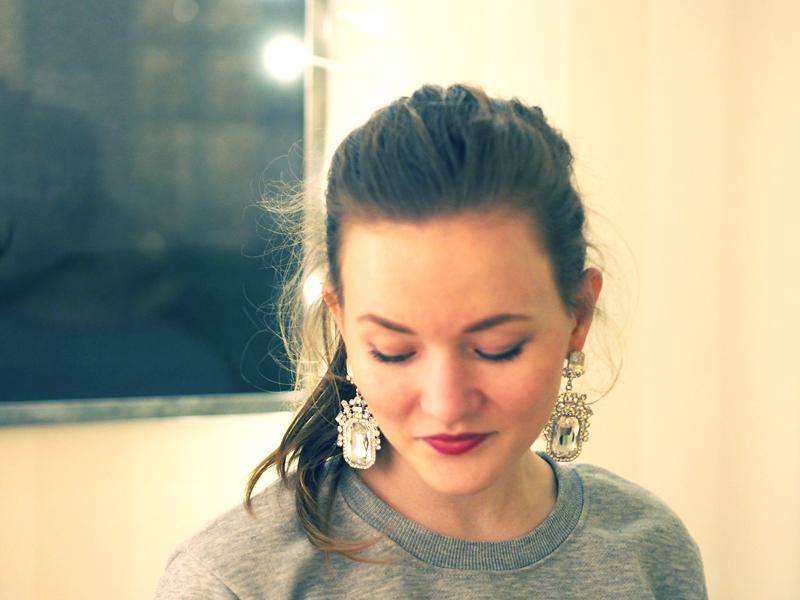 shiny earrings megabling
