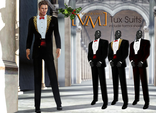 [VM] VERO MODERO  Tux Suits All