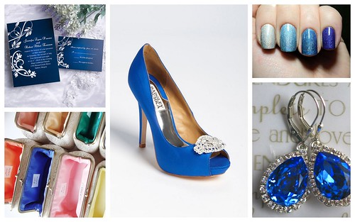 {Something Blue} Bridal Style Ideas by Nina Renee Designs