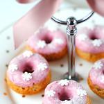 Gluten free Strawberry doughnuts