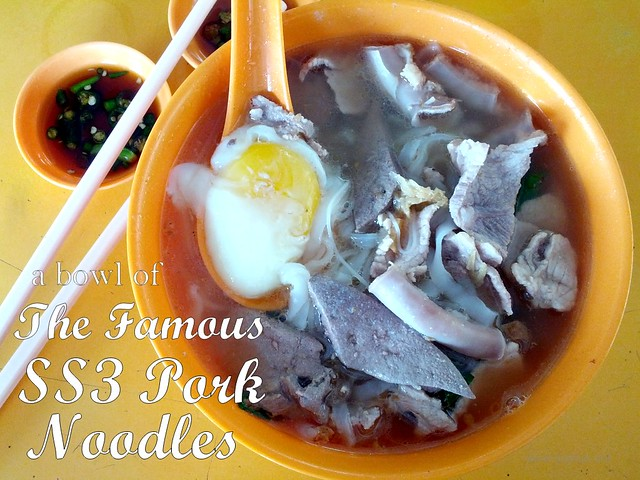 Famous SS3 Pork Noodles