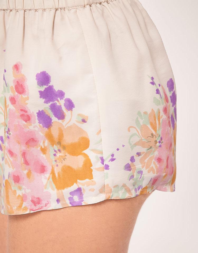 ASOS Shorts With Floral Border Print