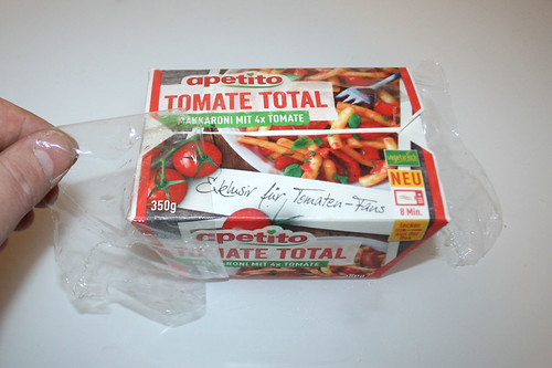 03 - Apetito Tomate Total - Folie entfernen / Remove foil