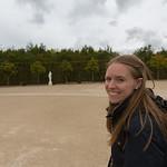Walking the grounds, Versailles