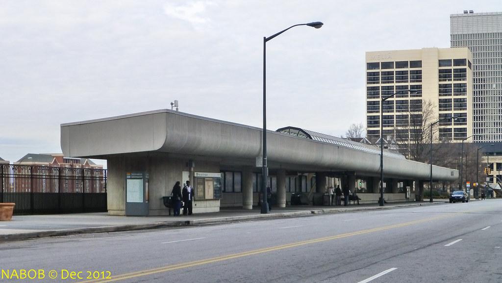 Atlanta Ga Marta Civic Center Station Entrance Straddlin Flickr