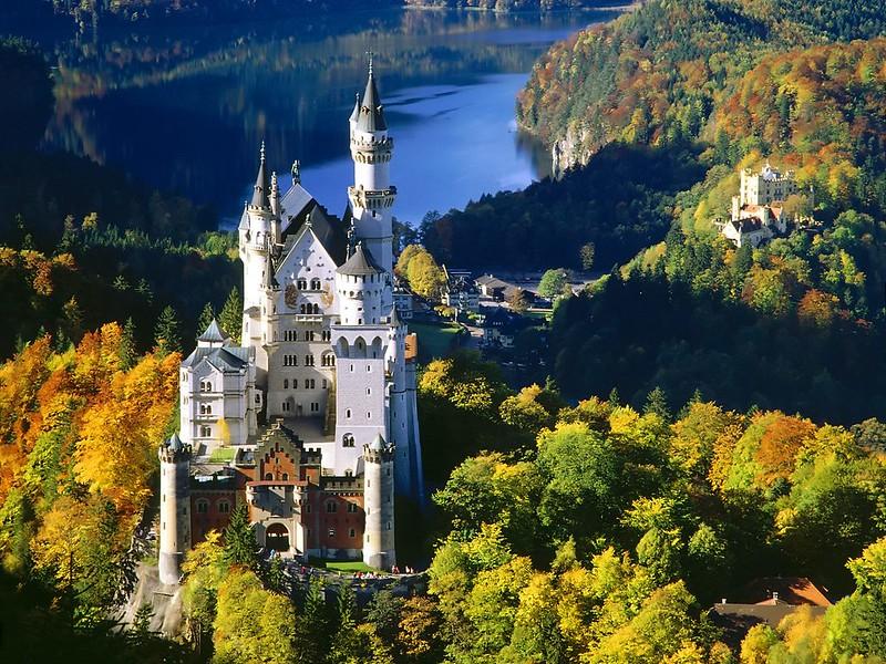 Neuschwanstein, una de las paradas más famosas de la región de Baviera