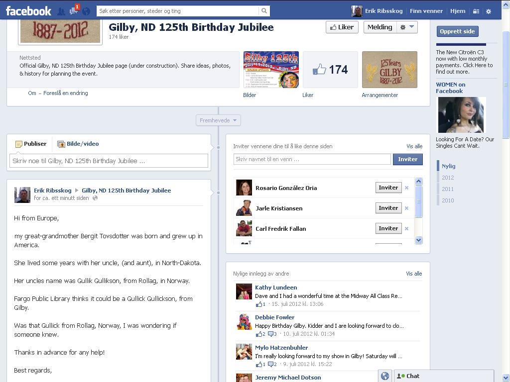 gilby facebook