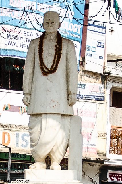 Statue of Lal Bahadur Shastri 2nd prime minister of India