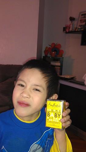 Organic Raw Shea Butter Baby Eczema Bar Soap