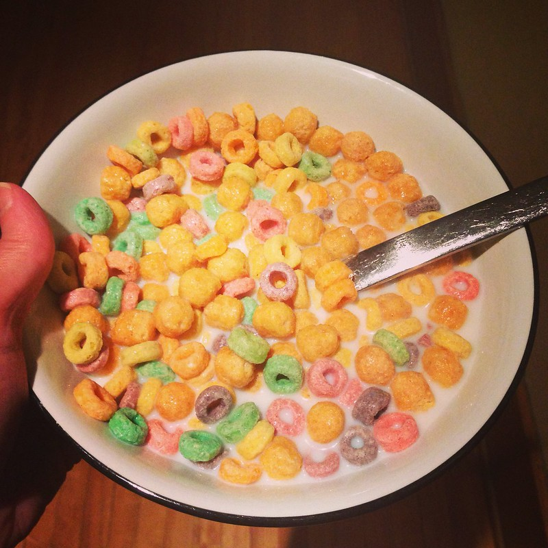 Corn Pops and Froot Loops