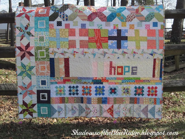 Faith Circle Row Quilt