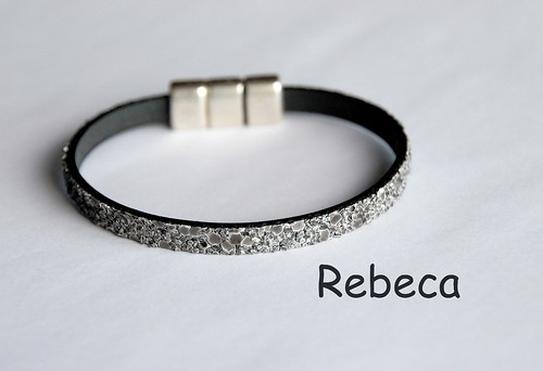 Pulsera cordon arena by rbk_rebeka