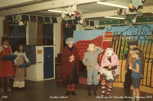 St John's School - Charlie and the Chocolate Factory 1978 by www.stockerimages.blogspot.co.uk