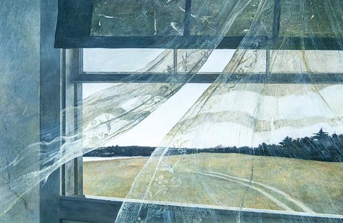 Wind from the Sea, Andrew Wyeth, 1947