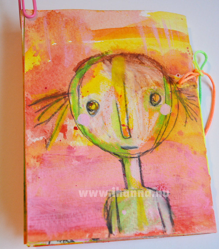 January Mini Book: Self Portrait