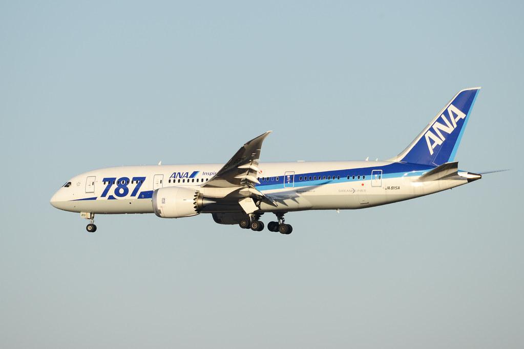 ANA 787-8 JA815A Inspiration of Japan